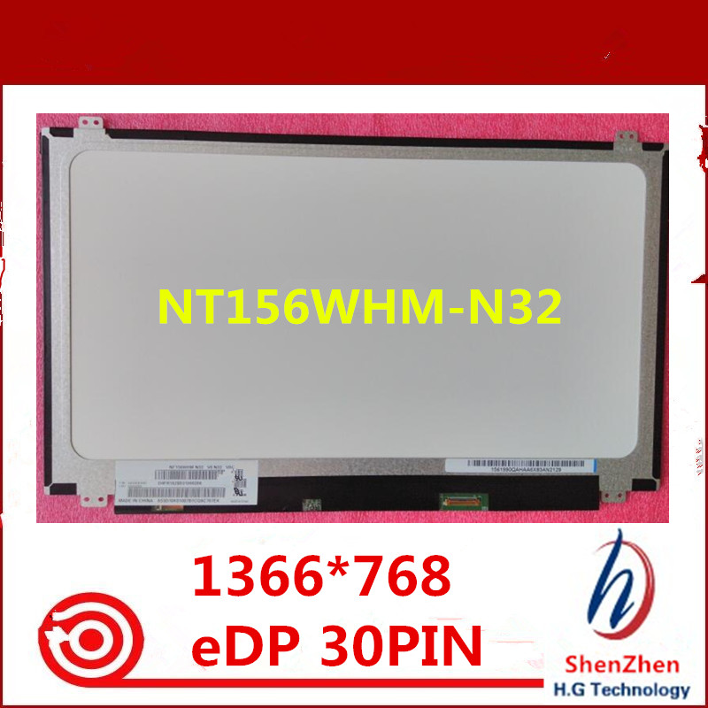 "New LCD Screen for NT156WHM-N32 V8.2 15.6/"" LED Display for Laptop"