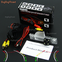 BigBigRoad Car Intelligent Dynamic Track Rear View Camera Night Vision Backup Reversing Camera For Roewe 350 / MG GT