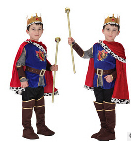 New Honorable Arabia King Children Cosplay Hallowean Cute