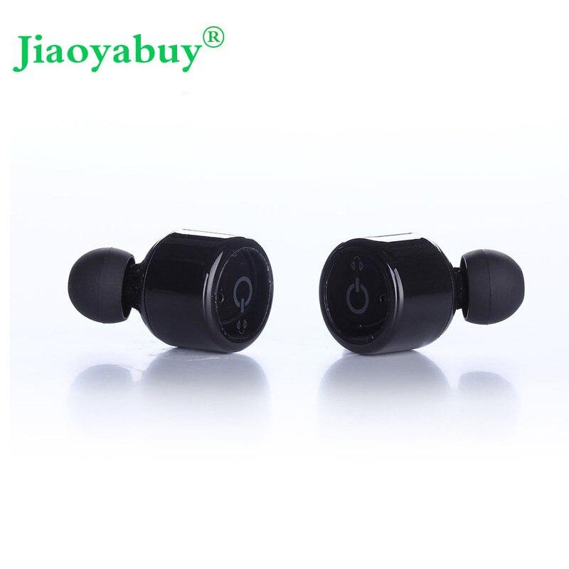 bilder für Jiaoyabuy x1t Wireless Bluetooth Headset Mini Sport Kopfhörer Drahtlose Bluetooth V4.2 Stereo Surround Sound Ohrhörer Mit Mikrofon