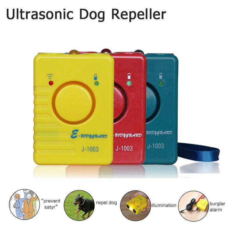 Dog ultrasons Repeller 4 Dans 1 LED Anti Dog Bark Formation Dispositif Puissant Électronique Garde Du Corps Pour L'agilité Chien Cesser D'aboyer