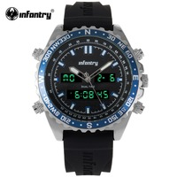 INFANTRY Military Watch Men Digital Quartz Mens Watches Top Brand Luxury Big Army Pilot Sport Watches For Men Relogio Masculino