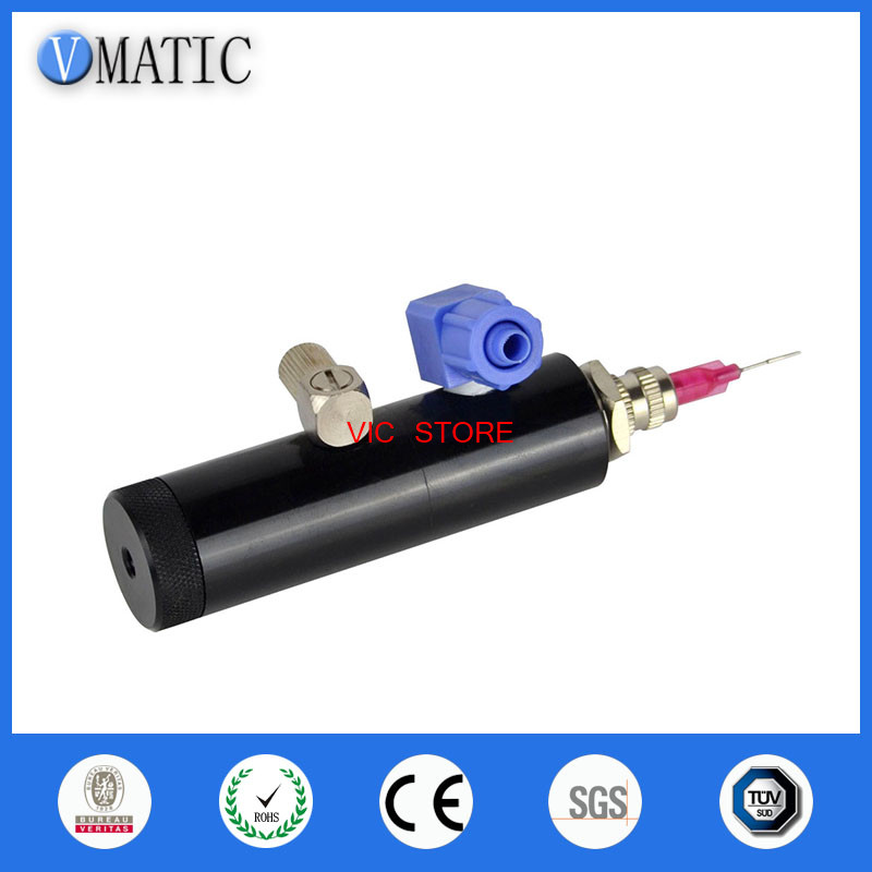 Free Shipping High Precision Pneumatic Manual Needle Valve Glue Dispense Nozzle Valve