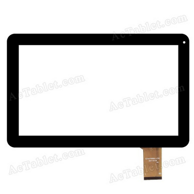 Black new touch screen 10.1 Tablet CZY6789A01-FPC Touch panel Digitizer Glass Sensor Replacement Free Shipping free shipping 10 inch touch screen 100% new touch panel tablet pc sensor digitizer fpc cy101j127 01 glass sensor replacement