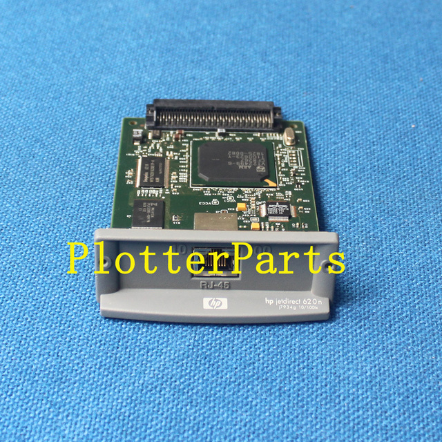 US $55 0 |Used HP JetDirect 620n internal print server 10BaseT and  100BaseTX LAN interface board Plugs into peripheral EIO slot-in Printer  Parts from