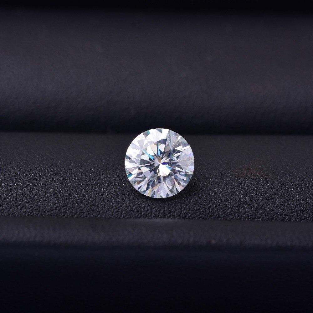 Les diamants Mozam weighs1.6 carats, et le diamètre est de 8.