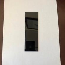 ZWB3 filter 254nm 200x100x3.0mm UG5 U-330 UV Pass Filter Ultraviolet Bandpass black optical glass цена
