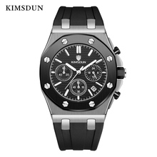KIMSDUN Mens Watches Top Brand Luxury Alloy Quartz Waterproof Watch Men Fashion Sport Retro Simple Wristwatch Dropshipping 2019