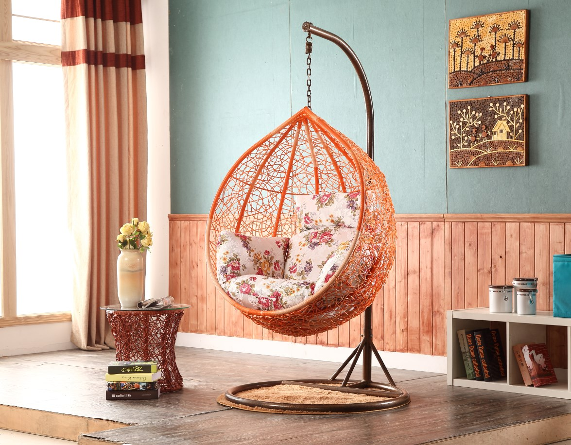 Chair egg chair at round swing chair luxury egg hanging chair in home