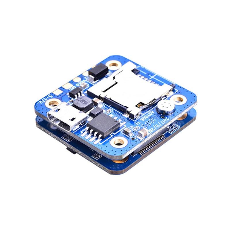 บอร์ด PCB สำหรับ RunCam มินิกล้อง FPV รุ่น RC Multicopter อะไหล่ DIY อุปกรณ์เสริม-ใน ชิ้นส่วนและอุปกรณ์เสริม จาก ของเล่นและงานอดิเรก บน   1