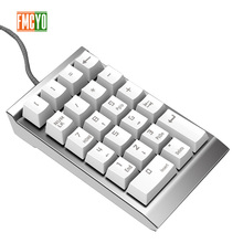 Digital Keypad Financial Accounting Laptop External Wired USB Green Axis Mechanical Numeric Keypad