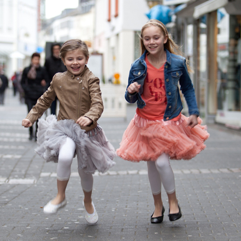 Buenos Ninos 21 Colors Baby And Children Girl Fluffy Chiffon Tutu Pettiskirt Dance Skirts
