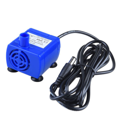 Portable Mini Pet Replacement Water Fountain Pump Submersible Dog And Cat Drinking Fountain Blue #3