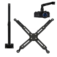 Pro LCD DLP Projector Ceiling & Wall Mount Metal Bracket Holder Stand 33lbs