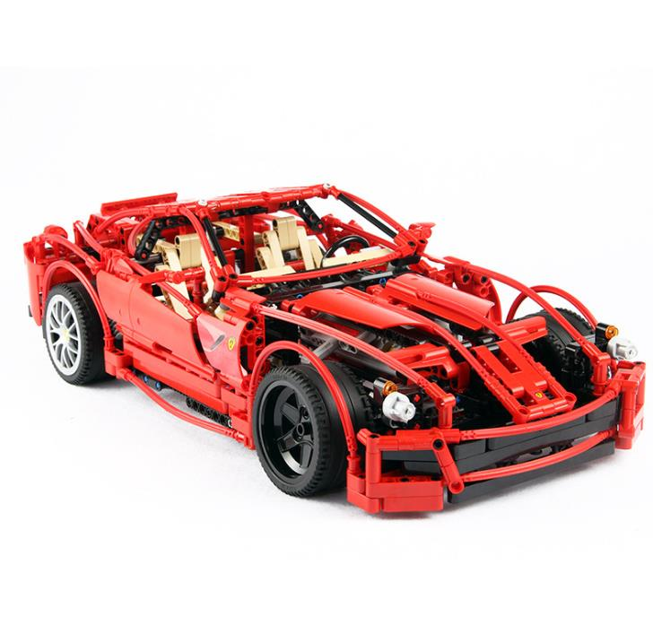 1322 pièces super voiture 1:10 F1 modèle de course blocs briques construction jouets set technic 8145 éducatifs enfants jouets legoings