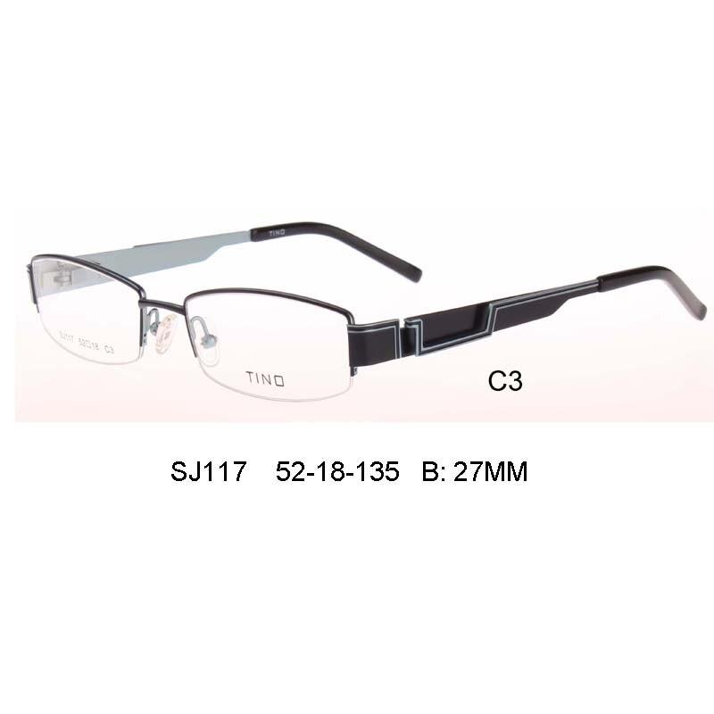 Material Del Marco óptico marcos de anteojos Cara Partido Forma ...