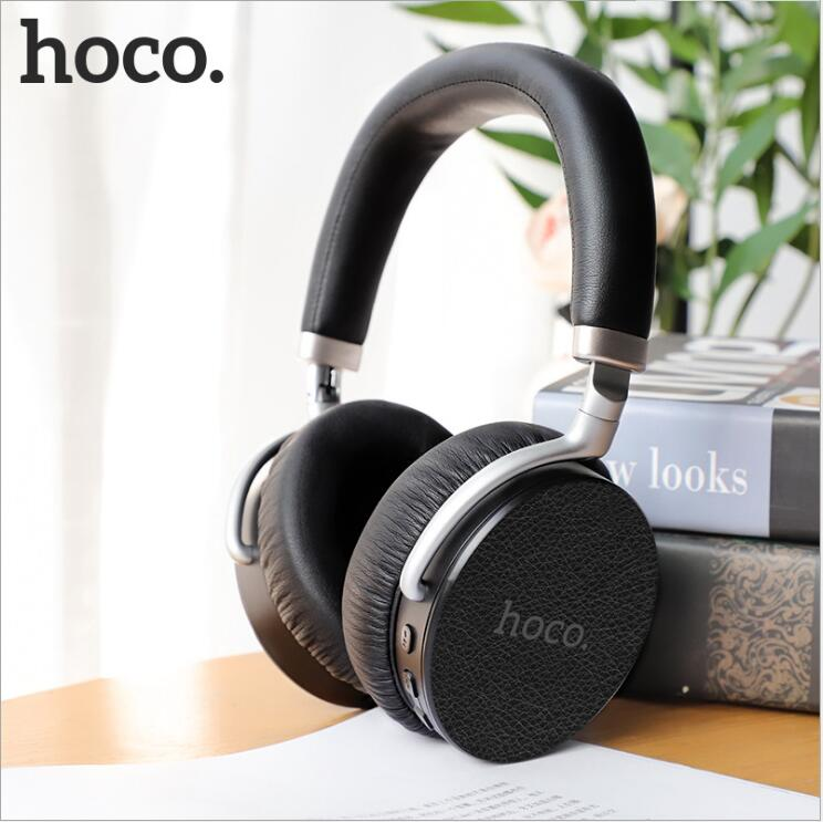 HOCO Active Noise Cancelling Wireless Bluetooth Headphones Portable Headset With Microphone for Mobile Phones and Music CallHOCO Active Noise Cancelling Wireless Bluetooth Headphones Portable Headset With Microphone for Mobile Phones and Music Call