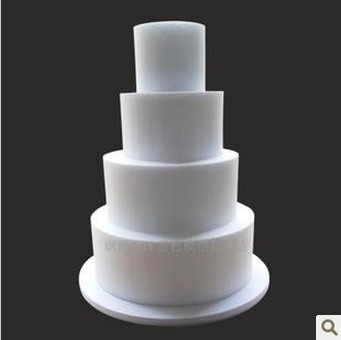 High Quality Styrofoam Layer Cake Model Polyfoam Mould 5 Tiers High42cm Diy Decoration Wedding Supplies Free Shipping In Christmas From Home