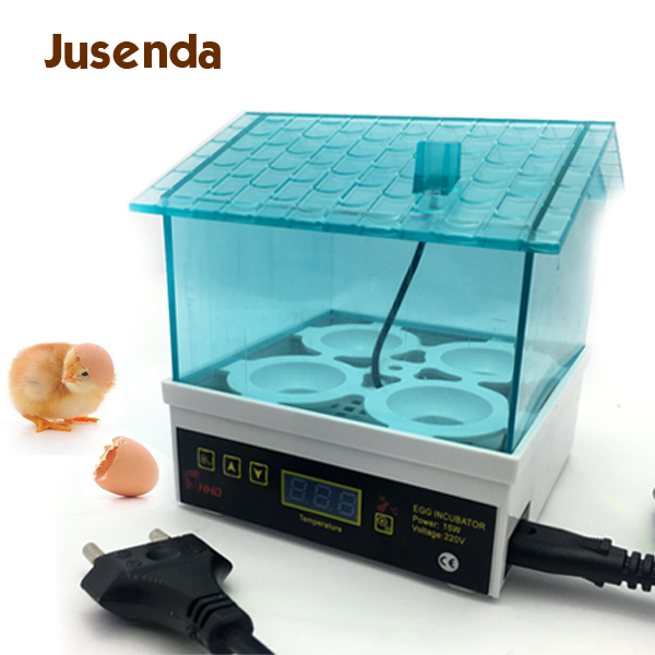 New Cheap Price China Digital Temperature Small Brooder 4 Mini Hatchery Egg Incubator Hatcher for Chicken Duck Bird Pigeon Quail-in Bird Feeding from Home & Garden