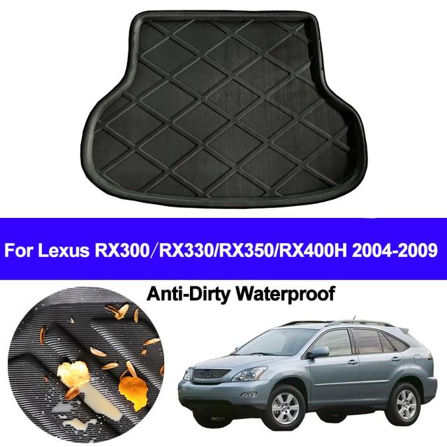 Auto Hinten Boot Cargo Liner Fach Stamm Gepäck Boden Matte Teppiche Pad Für Lexus RX300 RX330 RX350 RX400h 2004   2006 2007 2008 2009