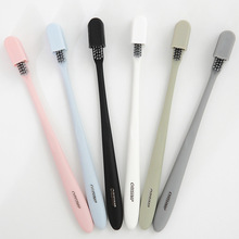 1 Pc Adults Toothbrush Soft-bristle Toothbrush Small Spiral Toothbrush Couples Toothbrush Soft Bristle Oral Care Health Tools 2pcs adults toothbrush soft bristle toothbrush binchotan toothbrush couples toothbrush soft bristle oral care oral hygiene