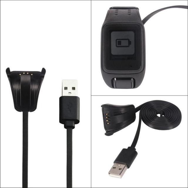 Пластиковые USB Данных Зарядки Колыбели Зарядное Устройство Для TomTom Искра Кардио Спорт Часы