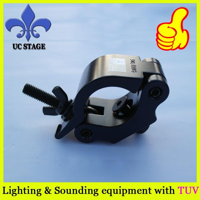 10 Pz/lotto Nuovo Morsetti Dj Audio Heavy Light Duty Di Montaggio Della Lampada In Alluminio Gancio Senza Ritorno