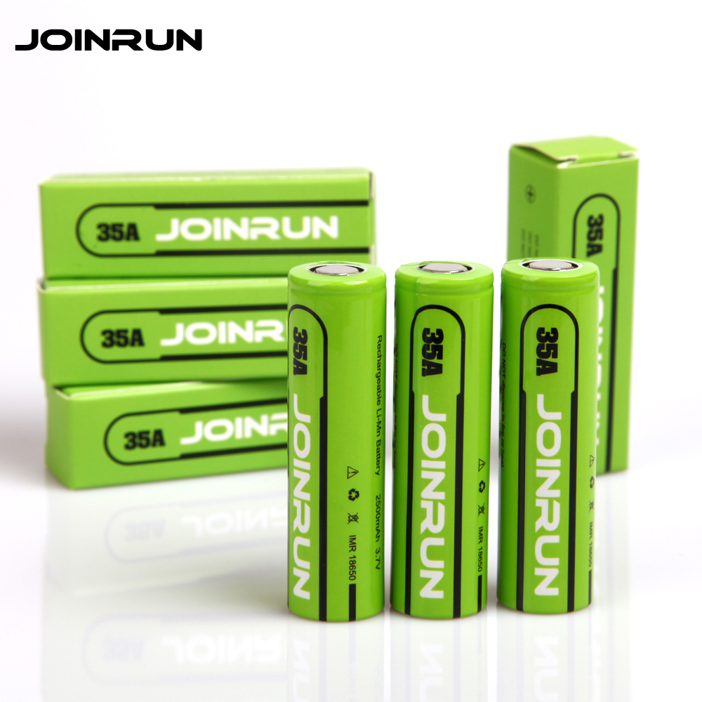 цена на Original Joinrun 18650 Battery 3.7V 2500mah Lithium Rechargeable Battery high performance li-ion battery for 18650 charger