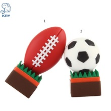 new cartoon soccer memory stick 2.0 memory card 4GB 8GB 16GB 32GB 64GB plastic rugby usb 3.0 pendrive flash drive free shipping 2016 new arrival design bluetooth multidiag pro for cars trucks and obd2 with 4gb memory card dhl free shipping