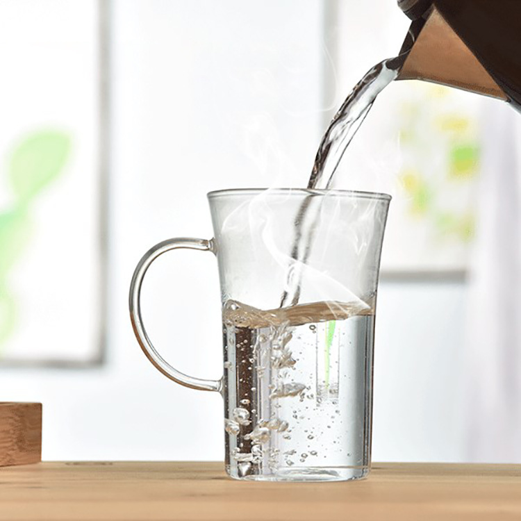 350ml Heat Resistant Glass cup,water,coffee,Home office Dinkware,pu'er/Dahongpao/Milk oolong/white tea - 1