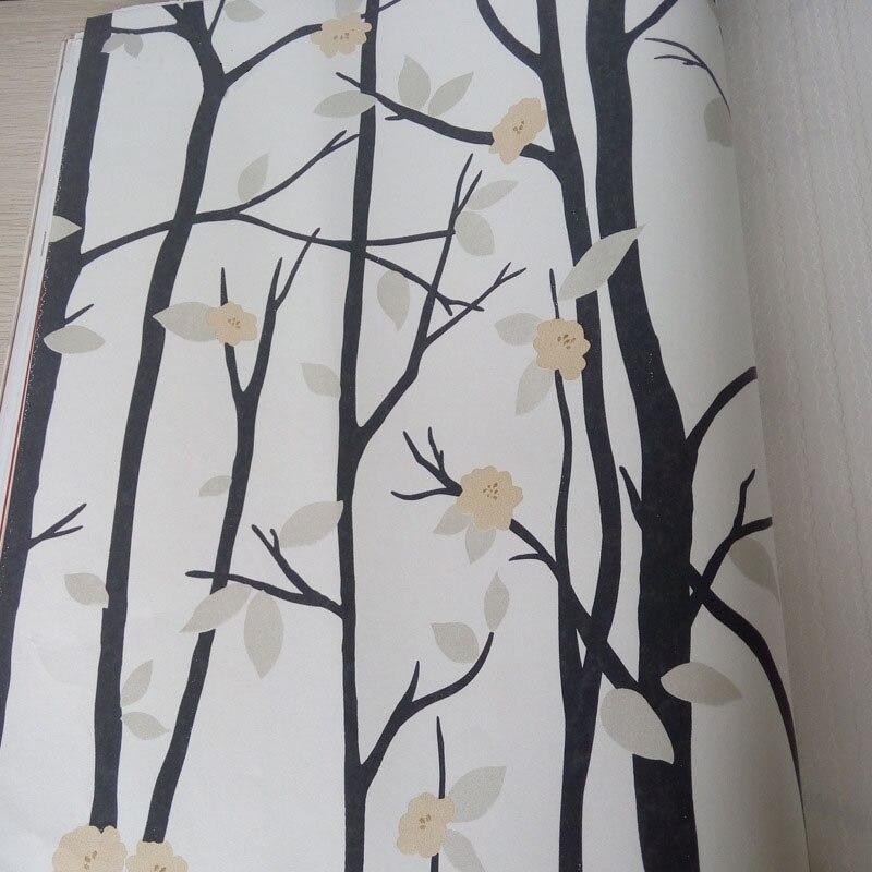 3d Moderne Papier Peint Decor A La Maison Fleur Papier Peint Branche