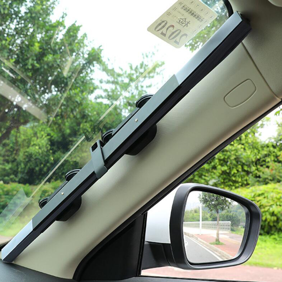 46/65/70/80cm Car Sunshade Front Rear Windshield Retractable Sun Block Cover Suv Summer Window Foil Cool Sheet Curtain Protector