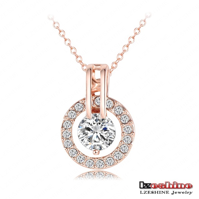 Sets Rose Gold Plated Necklace