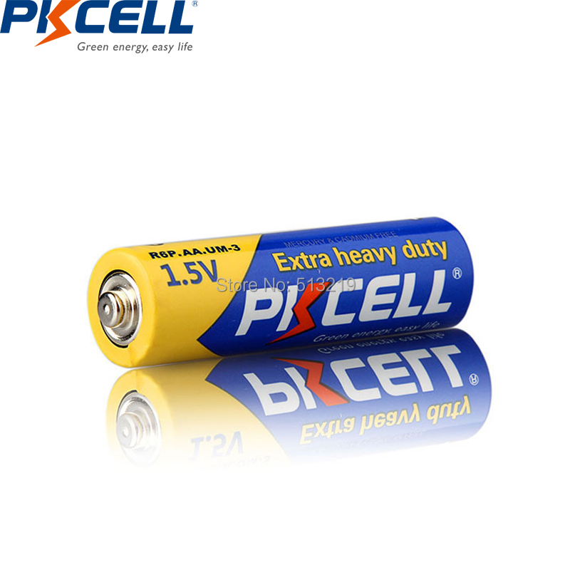 Image 4 - 20Pcs/PKCELL AA Battery 1.5v R6P UM3 Carbon Duty batteries 2A Primary and Dry Batteries for camera calculator mp3 player ectbattery offbattery grip canon rebel xsbatteries watch - AliExpress