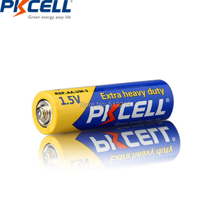 Image 4 - 20Pcs/PKCELL AA Battery 1.5v R6P UM3 Carbon Duty batteries 2A Primary and Dry Batteries for camera calculator mp3 player ect