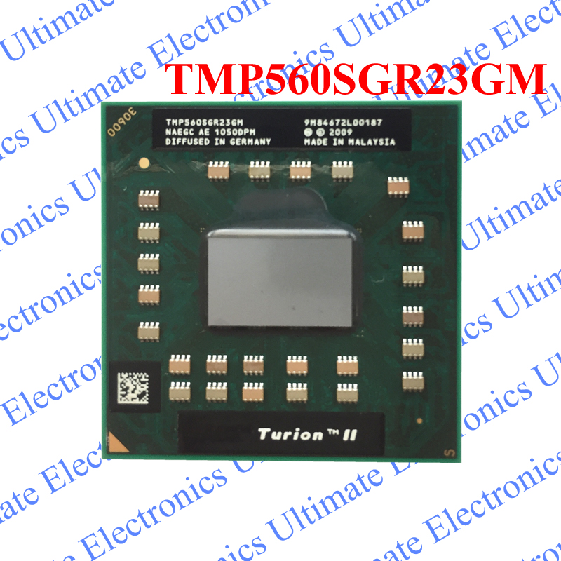 ELECYINGFO NEW TMP560SGR23GM P560 Turion II Dual-Core CPU PGA chipELECYINGFO NEW TMP560SGR23GM P560 Turion II Dual-Core CPU PGA chip