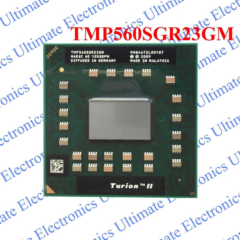 ELECYINGFO NEW TMP560SGR23GM P560 Turion II Dual-Core CPU PGA Chip