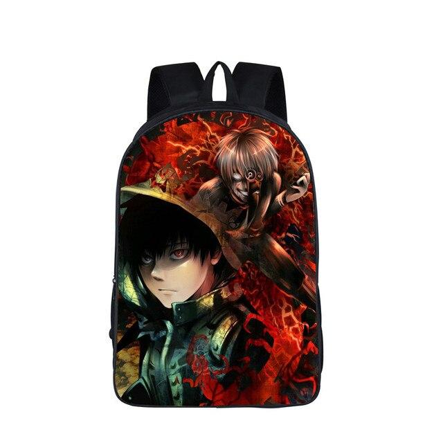 Tokyo Ghoul Kaneki Ken School Backpacks