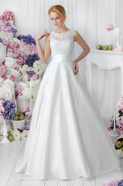 Simple Elegant High Neck 2018 Romantic Lace Bridal Gown Custom High Quality Vestido De Noiva Mother Of The Bride Dresses