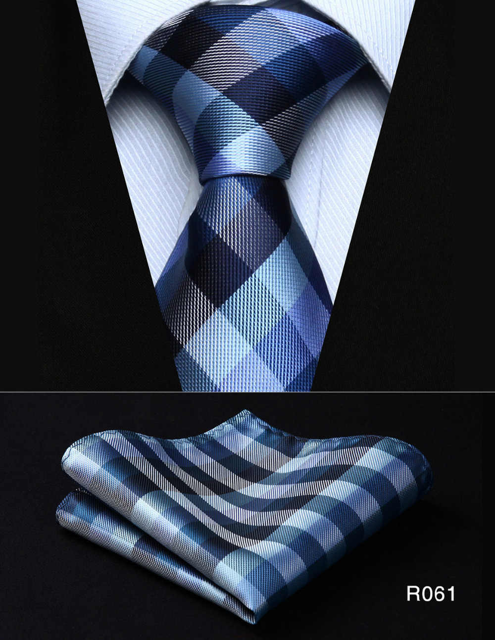 bc8fc1555f1e6 ... Men's Tie Pocket Square Classic Party Wedding Fashion Paisley 3.4