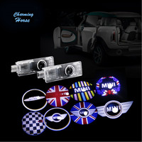 Car LED Welcome Projector Logo Ghost Shadow Car Door Light For Mini Clubman Cooper R55 R56