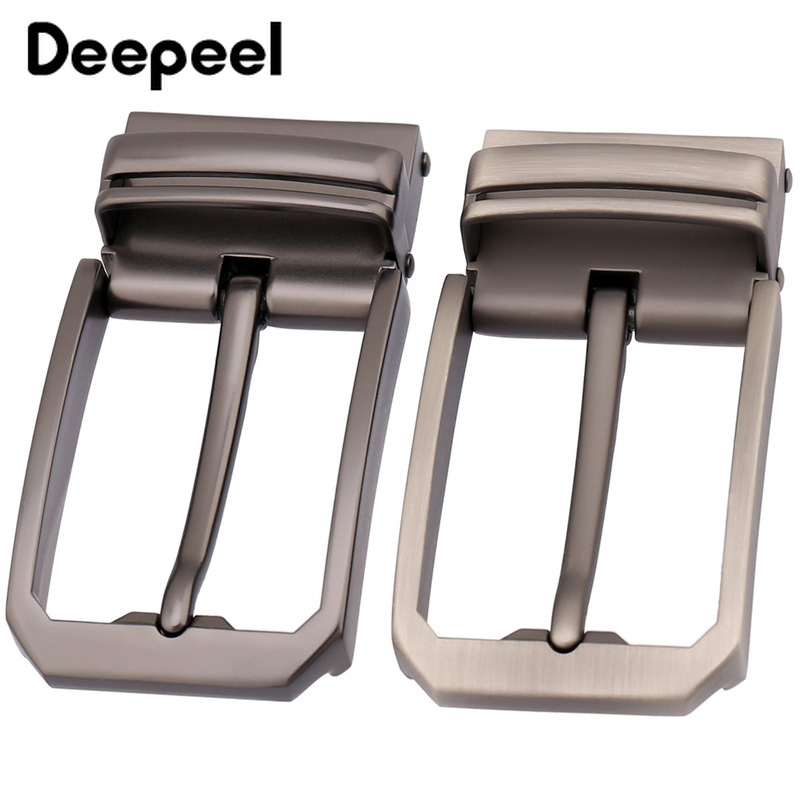 Deepeel Fashion Mens Belt Buckles Metal Pin Buckle For Belt 33-34mm Belt Head Boucle Ceinture DIY Leather Craft KY934
