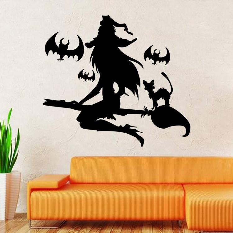 Fairy Wall Stickers For Room Decorations Diy Pvc Decals Children