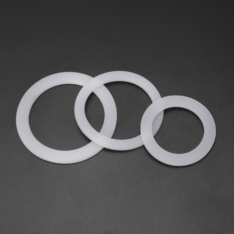 2- Cups Silicone Seal Ring Flexible Washer Gasket Ring Replacenent For Moka Pot Espresso