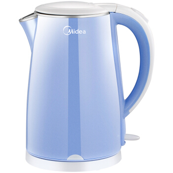 1.7L 1800W Blue Electric Kettle Stainless Steel Fast Heating Water Boiler Over-heat/auto-off/anti-dry Protection