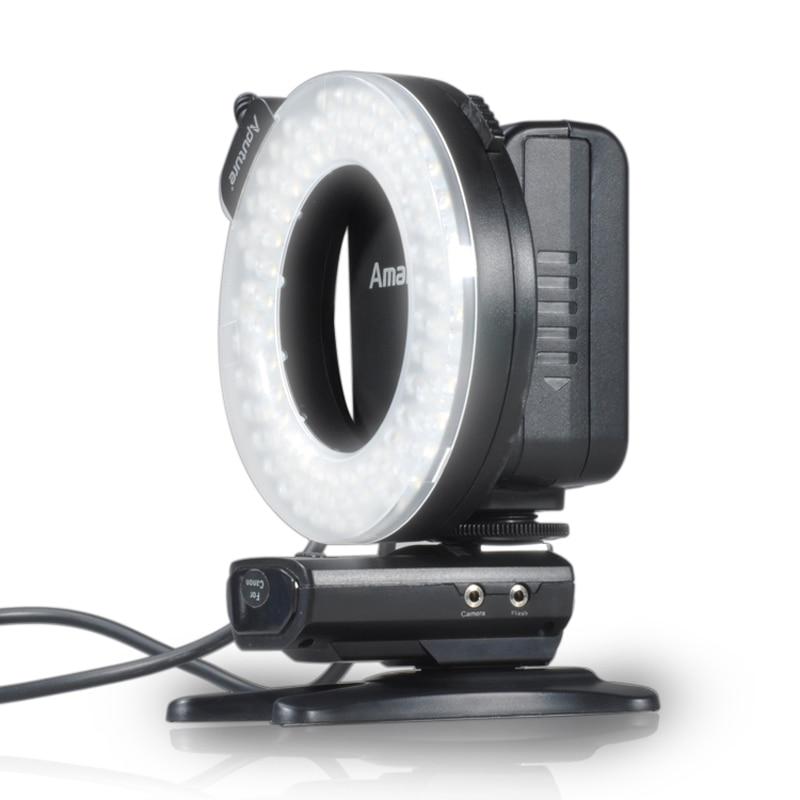 Aputure HN100 CRI 95+ LED Ring DSLR Camera Flash Light Speedlight For Nikon D800 D600 D610 D7100 D90 D7200 D610 D5200 D750 D810