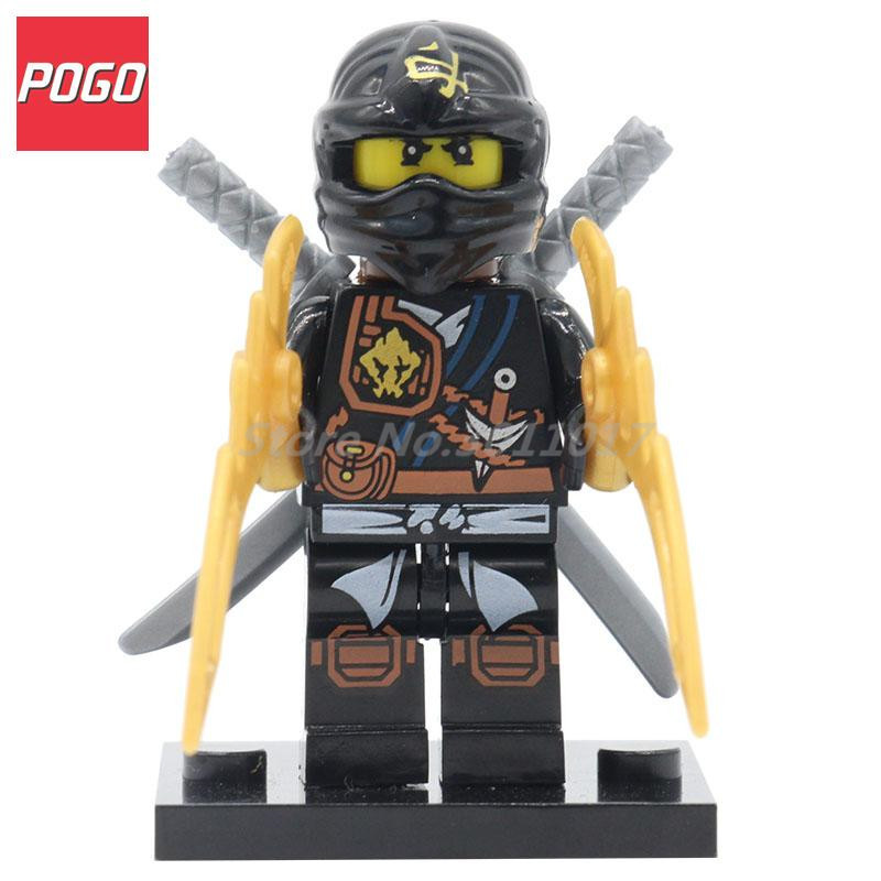 POGO Ninja Action Figure Super Hero Model With Lepin Building Block Set Bricks Single Sale Children DIY Toys Ninjagoinglys 658544 001 for hp 6465b laptop motherboard fs1 socket 100%full tested ok tested working