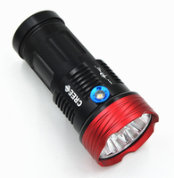 New 18650 LED Flashlight Torch 9 CREE XML T6 11000 Lumen 3 Switch Modes White Light