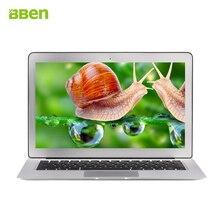 Bben 13.3 «Windows10 Ноутбук ultrabook 1920*1080 Intel i5 5200U 4 ГБ RAM 256 32GBSSD Ультрабук Bluetooth4.0 7000 мАч Батареи