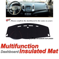 Dashboard Mat Original Factory Shape pad Protection Cover Carpet Dashmat Special Model For Mitsubishi Outlander Sport 2010~2016